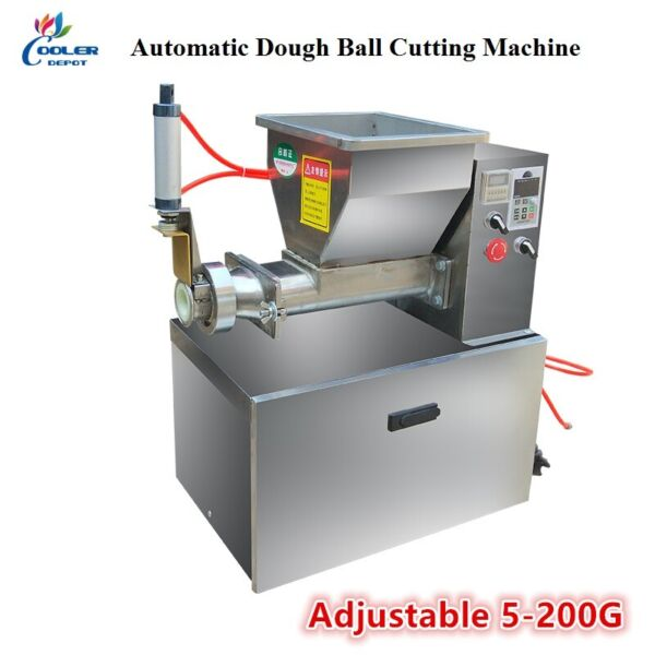NEW Adjustable Dough Divider Cutter and Rounder Automatic Machine Model HD75 $2584.30