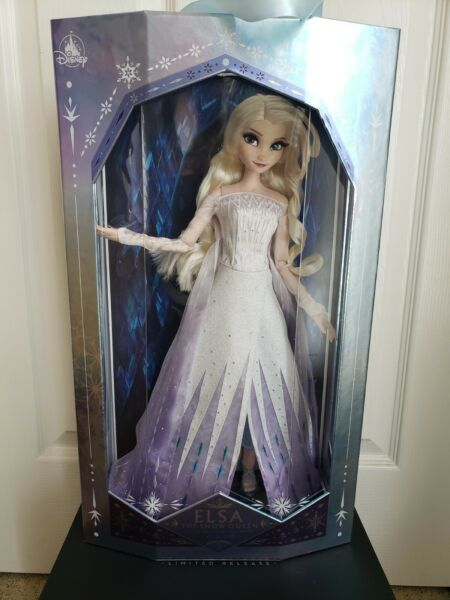 "RARE In Hand Disney Frozen 2 Snow Queen Elsa Limited Edition LE 17"" Doll"