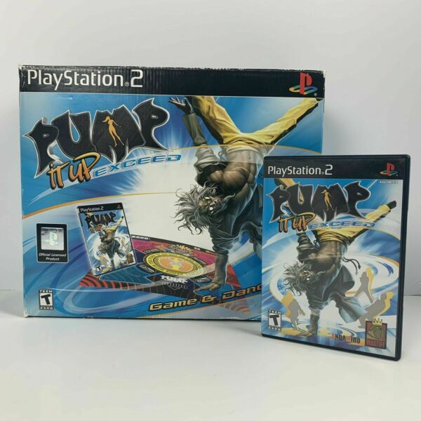 PS2 Pump It Up Exceed Game And Dance Mat for Sony PlayStation 2 $129.99