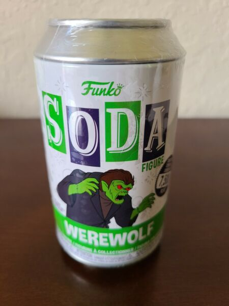 New Sealed Funko Soda Werewolf Chance Of Chase Vinyl Figure Scooby Doo