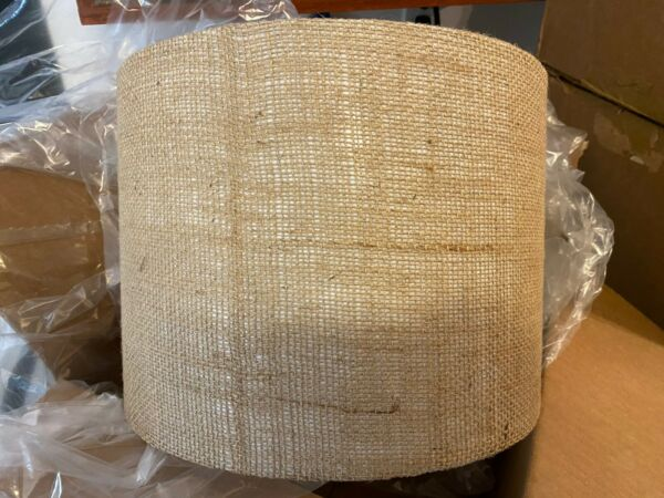 12quot; Burlap Lamp Shade by Cerno