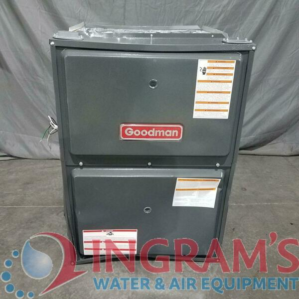 Scratch amp; Dent 25539 120k BTU 96% AFUE Multi Speed Goodman Gas Furnace Upflow $1194.54
