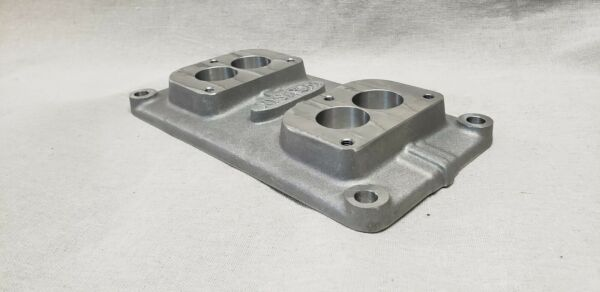 2 Dual Stromberg Holley 2 barrel Gm 4 71 Supercharger Top Plate Manifold $130.00