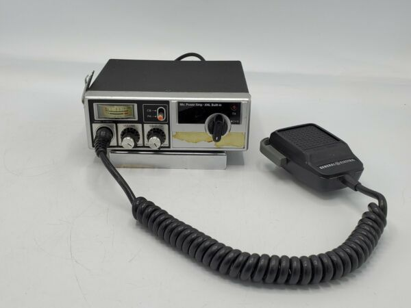 General Electric 40 Channel Citizen Band Transceiver Model 3 5804G $44.99