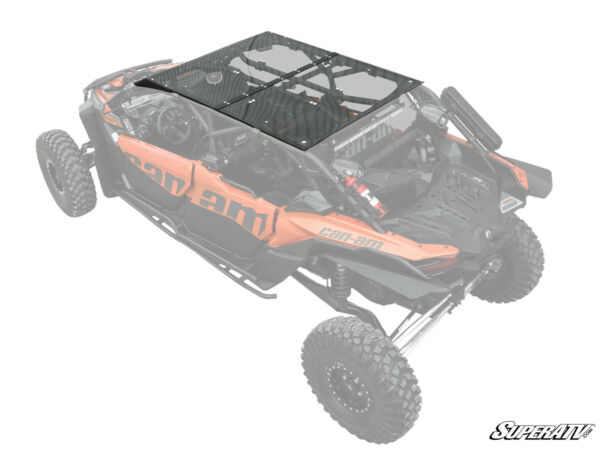 SuperATV Heavy Duty Polycarbonate Roof for Can Am Maverick X3 MAX 2017 $829.95
