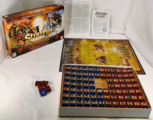 2005 Narnia Stratego Game by Milton Bradley Complete in Great Cond FREE SHIP