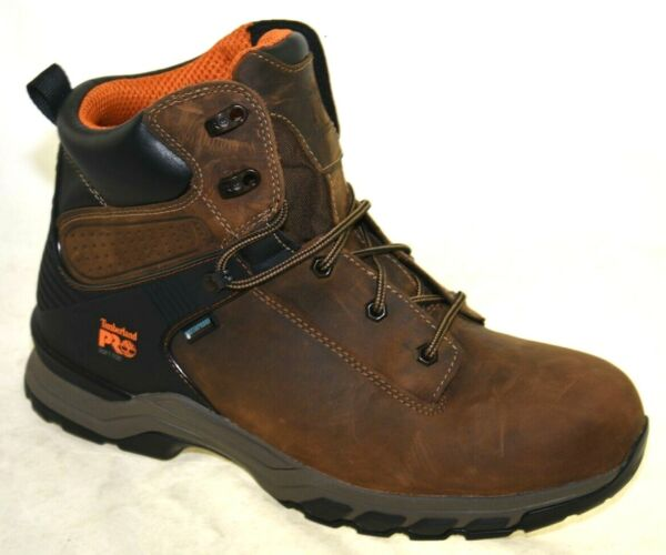 Timberland Pro Men#x27;s Hypercharge 6quot; Soft Toe Waterproof Work Boot A1Q56 13XW $59.99