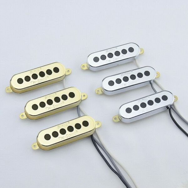 1 Set 3 Pieces Burns Tri sonic Single Alnico Pickups For Electric