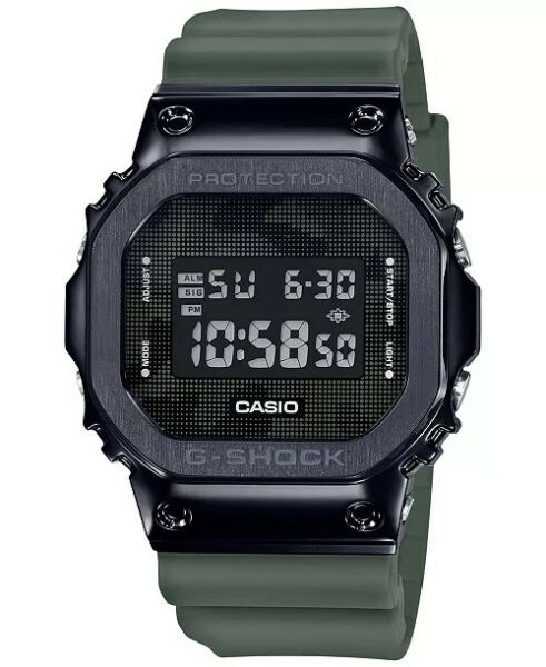 CASIO G SHOCK GM5600B 3 BLACK STEEL ION PLATED GM 5600B 3 NEW IN Case FREE SHIP
