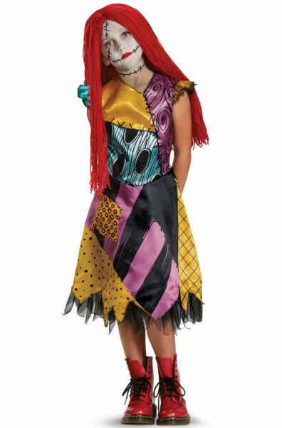 The Nightmare Before Christmas Sally Deluxe Child Costume