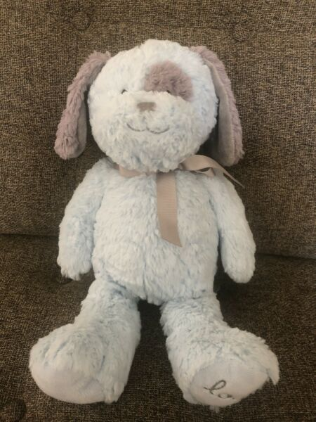 Wendy Bellissimo Blue Plush Dog Gray Ears Love 16quot; Soft $17.99