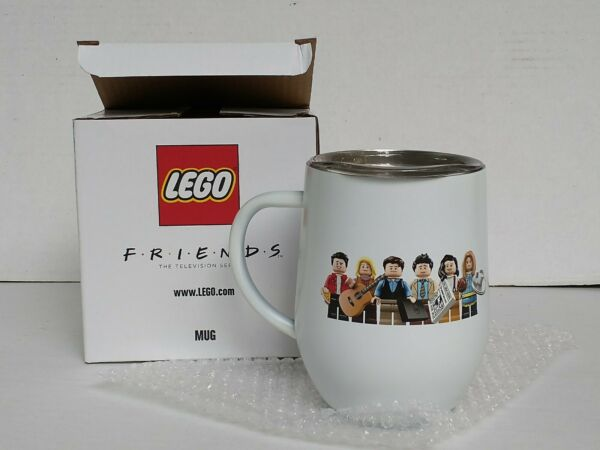 New Collector#x27;s Lego Friends Mug 5006068 Central Perk Coffee In Hand