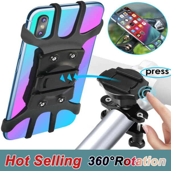 Universal Motorcycle MTB Bike Bicycle Handlebar Holder Mount For Cell Phone US $4.99
