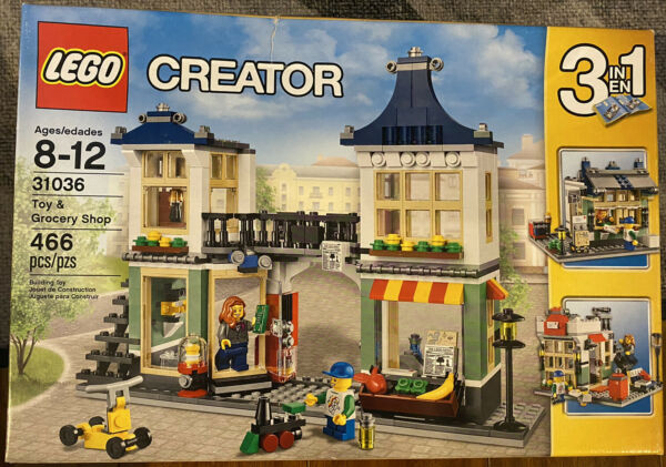 Lego City Creator Toy and Grocery Shop 31036 Brand New amp; Sealed Damaged Box $75.00