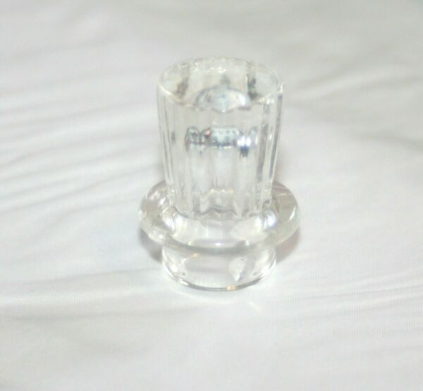 Vintage Clear Glass Coffee Percolator Replacement Top Knob Lid