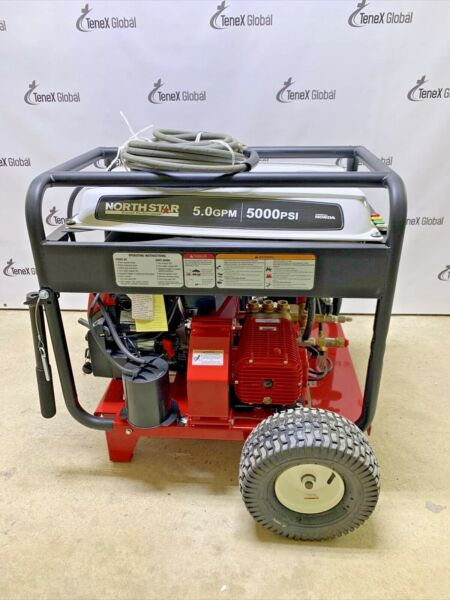 NorthStar Gas Cold Water Pressure Washer 5000 PSI 5.0 GPM Honda Engine S 4 $3950.00