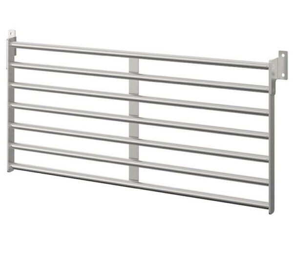 IKEA Kungsfors Wall Rack Stainless Steel 803.349.19 $49.99