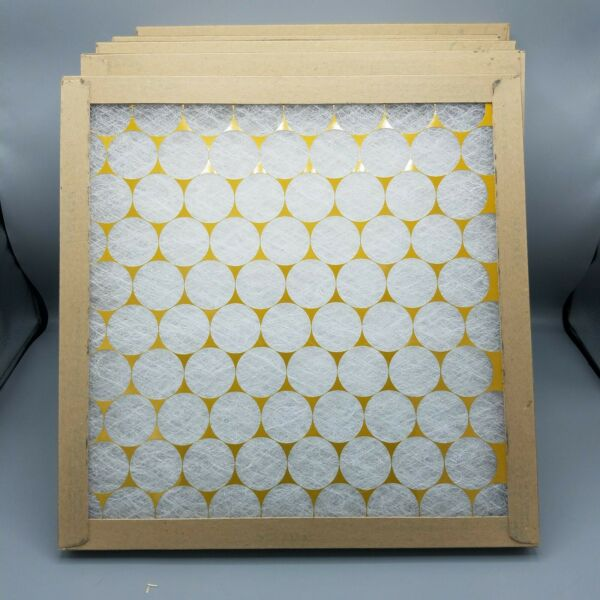 Glasfloss 14x14x1 Non Pleated Air Filters for AC amp; Furnace 6 Pack $23.00