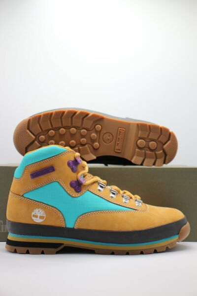 Timberland Euro Hiker Wheat Hiking Trail Mid Boots TB0A2NK3 231 Men#x27;s Sizes
