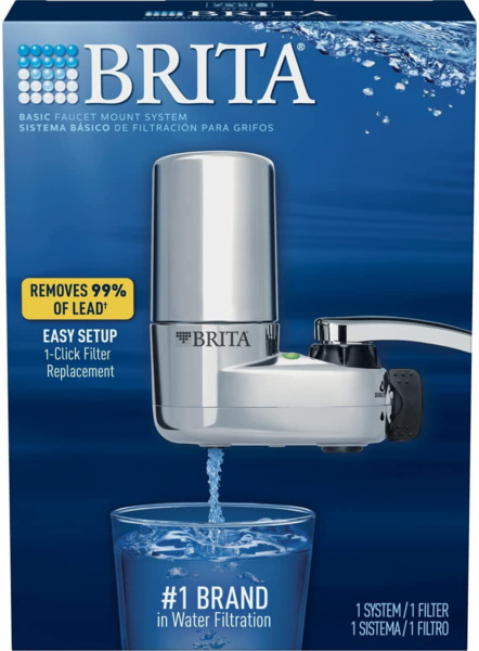 NEW Brita Faucet Water Filter System EASY INSTALL FREE SHIPPING