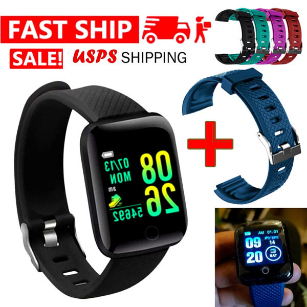 2021 Waterproof Bluetooth Smart Watch Phone Mate For iPhone IOS Android Samsung $11.99
