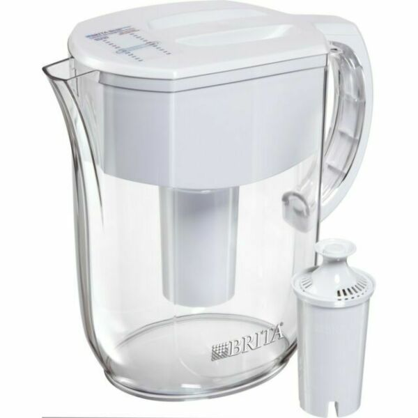 Brita Everyday White Water Pitcher w Filter 10 Cups Model 36205