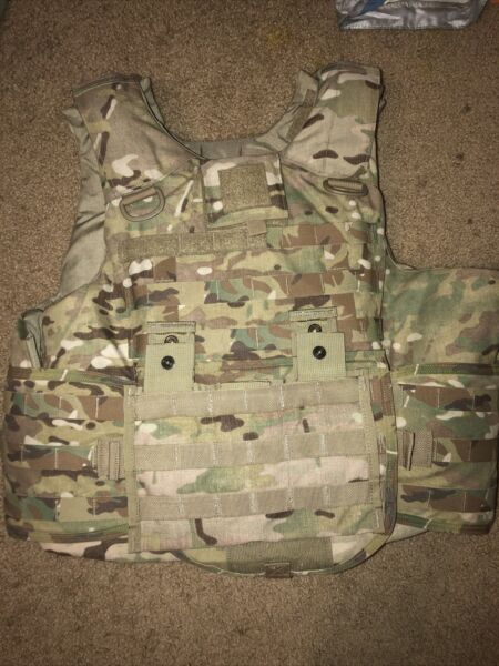 Multi Cam OCP Plate Carrier System Medium New W Front back Hard Plates Soft Ins $1000.00