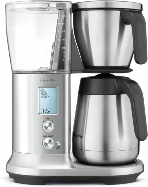 Breville Precision Brewer Thermal Coffee Maker Brushed Stainless BDC450BSS1BUS1