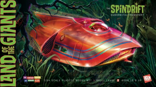DH The Spindrift Land of the Giants 1:64 scale model kit 1830