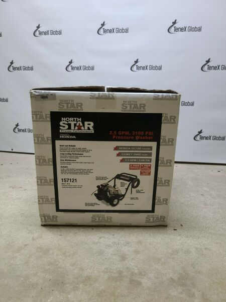 NorthStar Gas Cold Water Pressure Washer 3100 PSI 2.5 GPM Honda Engine 157121 $549.97
