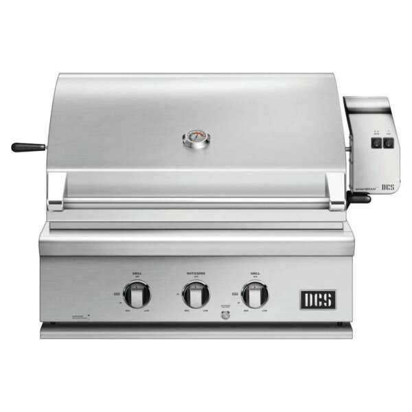 DCS Series 7 Traditional 30 Inch Built In Natural Gas Grill With Rotisserie $2999.00