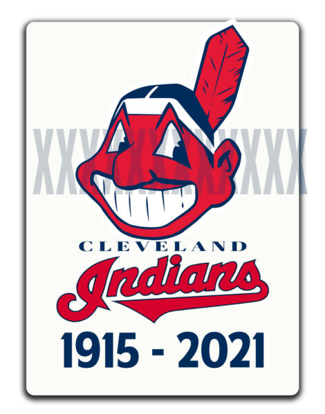 CLEVELAND INDIANS CHIEF WAHOO DECAL 1915 2021 Name Change Tribute Sticker