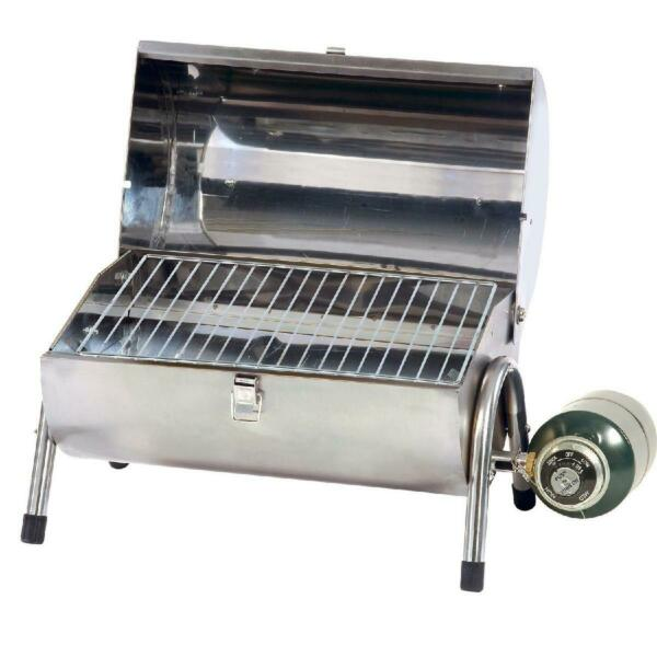 Stainless Steel Gas Barbeque Grill Durable Lightweight Compact Camping Outdoor