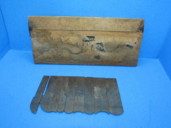 parts as is cutter box No 3 for Stanley 55 wood plane w 9 hollow quarter round $54.00