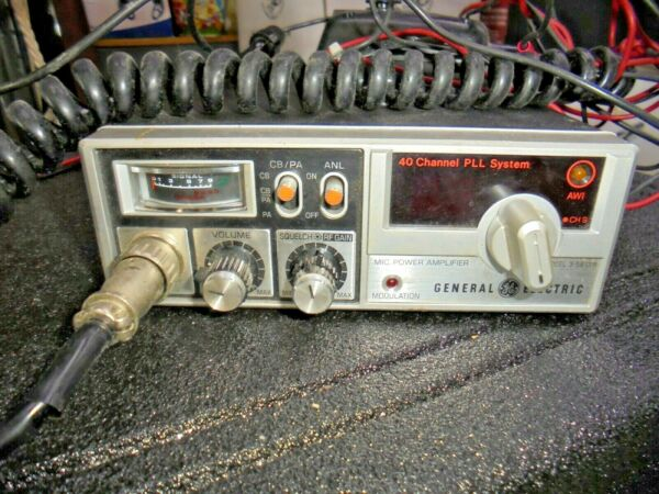 GENERAL ELECTRIC 40 CHANNEL PLL SYSTEM MODEL 3 5813B $50.00