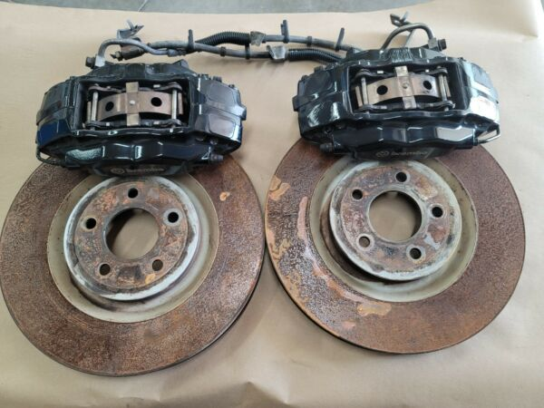2007 2012 Mustang GT500 Shelby Front Brembo Calipers Brakes Rotors