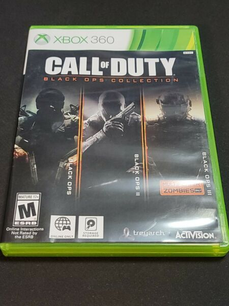 Call Of Duty: Black Ops Collection Microsoft Xbox 360 2016 Tested Works $28.00