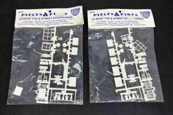 IHC Pieces amp; Parts HO Scale Rooftop amp; Street Accessories #4408 $12.00