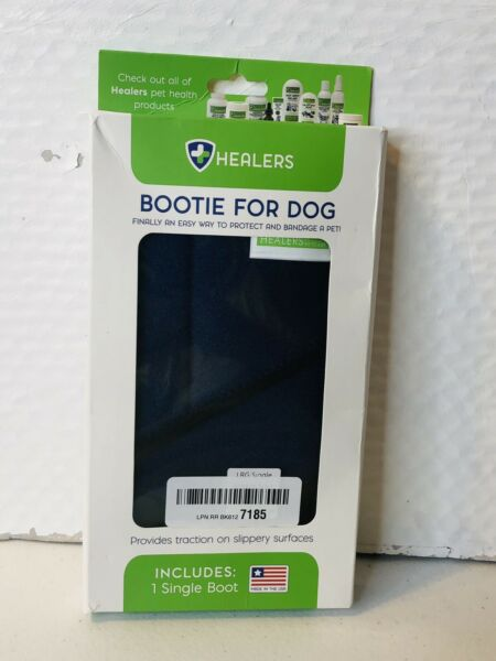 Healers Petcare Medical Single Bootie For Dog Large $9.99