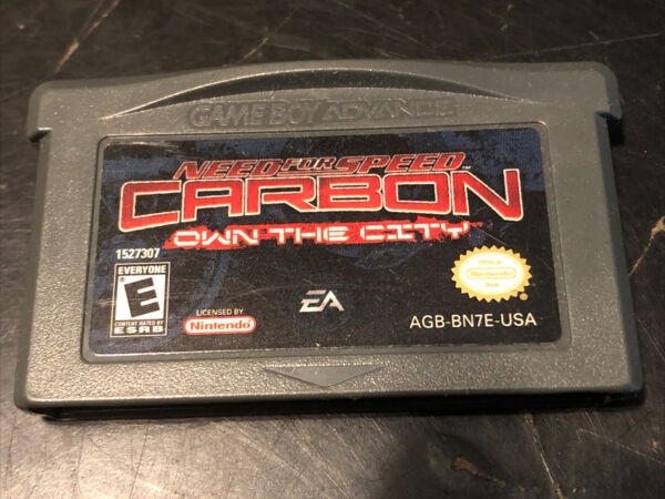 Need for Speed Carbon Game Boy Advance GBA Authentic Tested $7.50