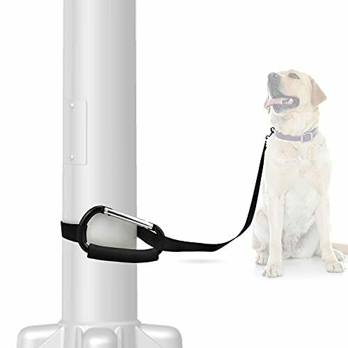 eXuby Freedom Carabiner Dog Bike Leash to Wrap Around Poles Trees or Benches ... $14.09