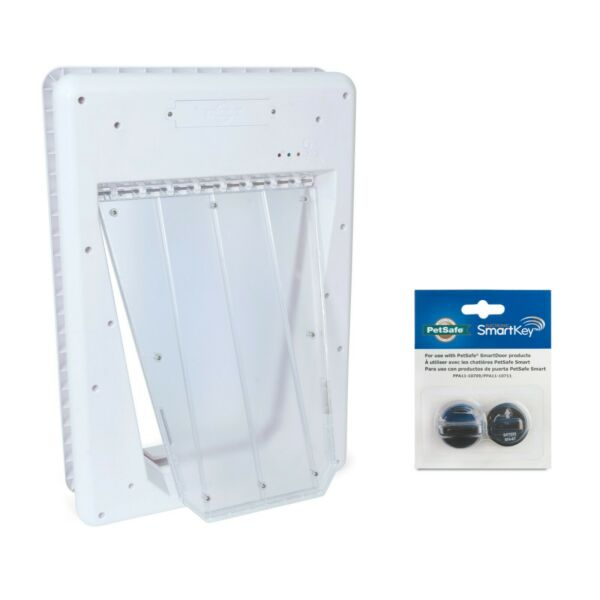 PetSafe Electronic SmartDoor Automatic Dog and Cat Door For Large Pets . $125.99