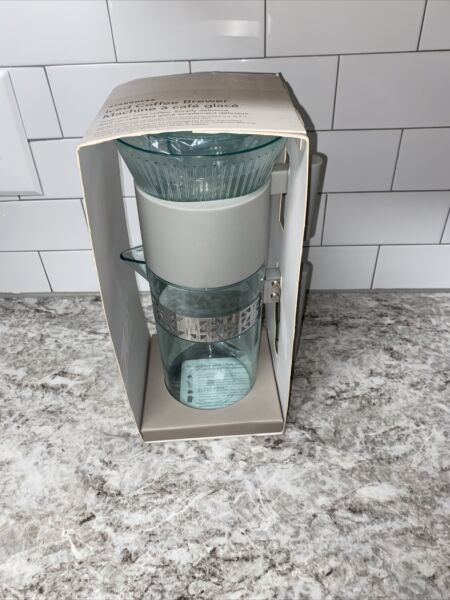 Starbucks Iced Coffee Brewer Maker Cold Brew Pour Over Style New in Box