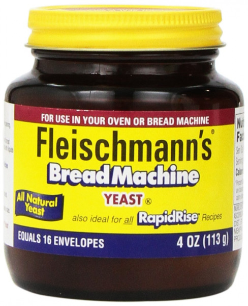Fleischmann#x27;s Yeast for Bread Machines 4 ounce Jars 4 Ounce Pack of 1