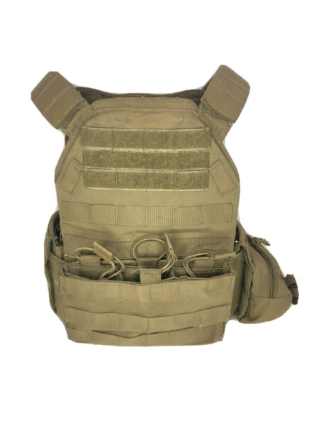 TYR Tactical PICO 1 M Plate Carrier System Coyote Brown Size Medium $395.00