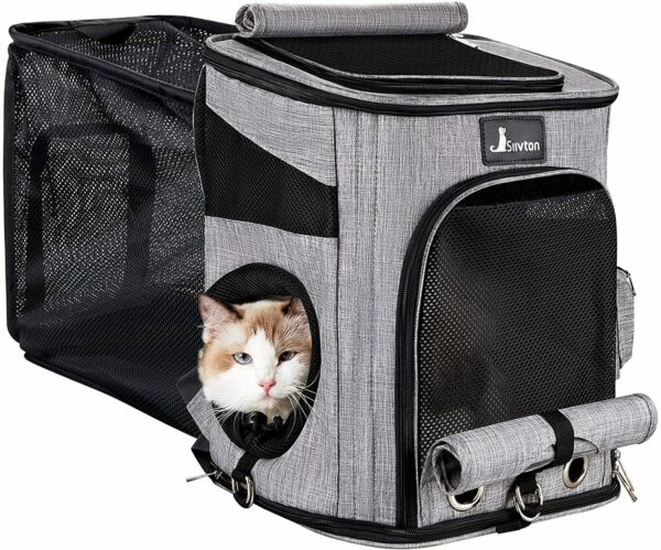 Cat Carrier Backpack Airplane Airlines Durable Adventure Dog Hiking Breathable $42.95