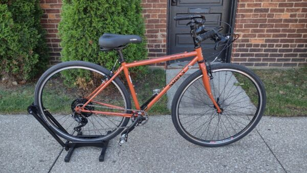 Surly Cross x Check Double Butted 4130 Chrome Molly 1 x 9 Speed Full Road Bike $1750.00