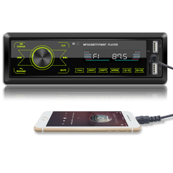 Bluetooth 4.0 Single Car Multimedia Player Stereo MP3 Player Radio Receiver PT $25.55