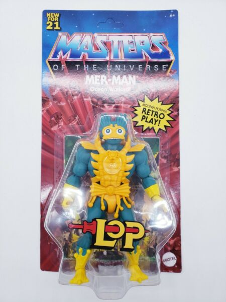 NEW WAVE Mer Man Masters Of The Universe Origins Lords of Power MOTU *IN HAND*
