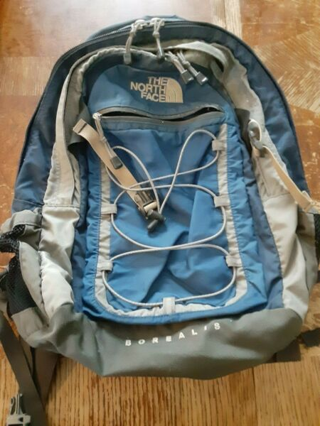 The North Face Backpack Blue Borealis Classic Outdoor Hiking Camping Travel #H $33.24